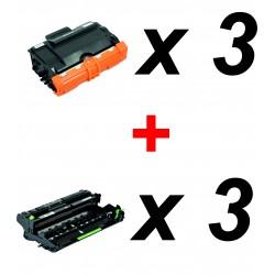 Pack 3 x TN-3480 + 3 x...