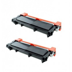 2 x BROTHER TN2420 COMPATIBLE