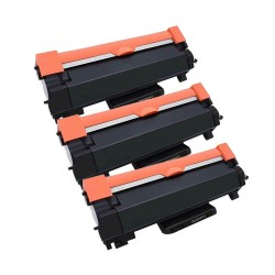 3 x BROTHER TN2420 COMPATIBLE