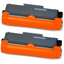 2 x BROTHER TN2320 COMPATIBLE