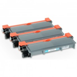 3 x BROTHER TN2320 COMPATIBLE