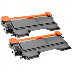 2 x BROTHER TN2220 COMPATIBLE