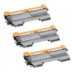 3 x BROTHER TN2220 COMPATIBLE