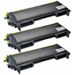 3 x BROTHER TN2000 COMPATIBLE