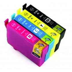 4 Tintas Epson 603 XL...