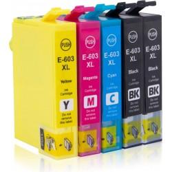 5 Tintas Epson 603XL...