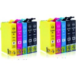 10 Tintas Epson 603 XL...