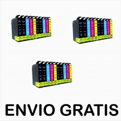 30 CARTUCHOS 29XL  COMPATIBLES