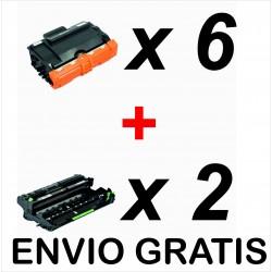 Pack 6 x TN-3480 + 2 x...