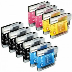 10 Brother  LC-985 Compatibles
